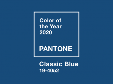 az év (2020) színe: Classic Blue (Pantone)